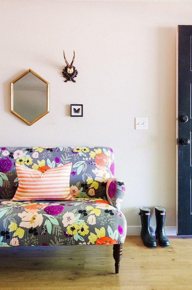 Trouvailles pinterest déco fleurie les idées de ma maison photo mydomaine