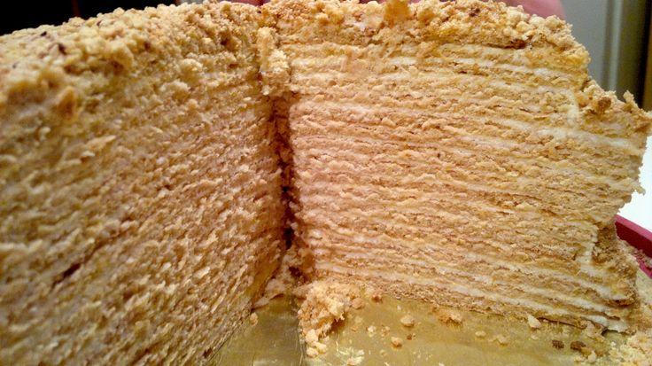 Как делать торт монастырская изба