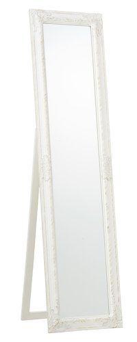 Golvspegel RUDE 40x160cm vit | JYSK