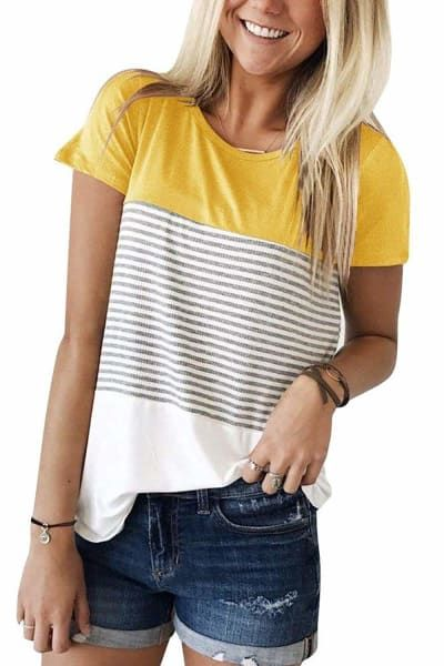 7424936fb 26 Inexpensive Tees You'll Want To Buy In Every Color ...