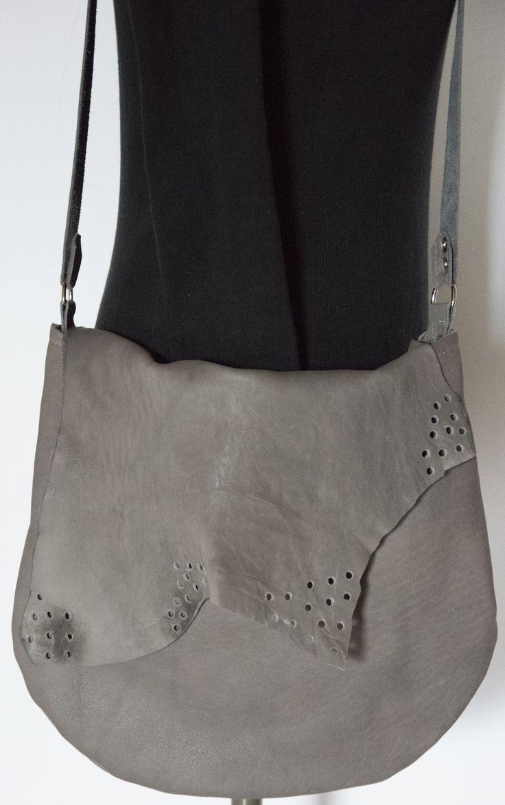 Skrawek Natury - perforate leather bag