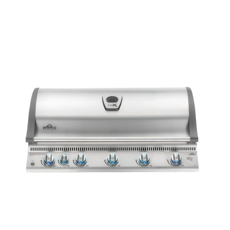 Napoleon BILEX730RBIPSS Built In Propane Gas Grill Head, Silver stainless steel