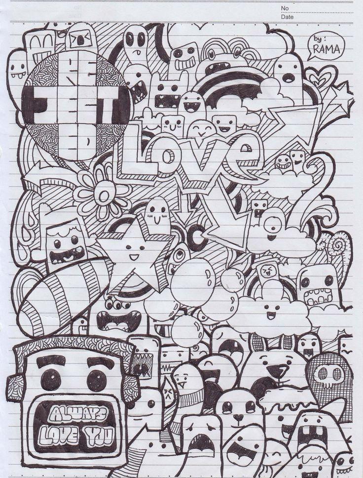 doodle_art___love_by_rachmatarrmdhn-d63ayqy.jpg (1024×1348)