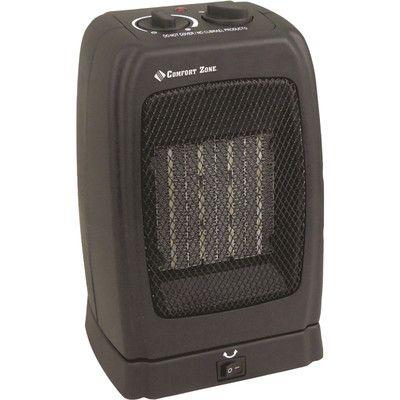 1,500 Watt Portable Compact Electric Fan Heater,    #SpaceHeaters,    #CZ442
