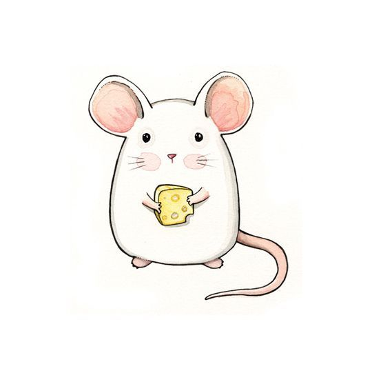 Imagen de mouse, cute, and cheese