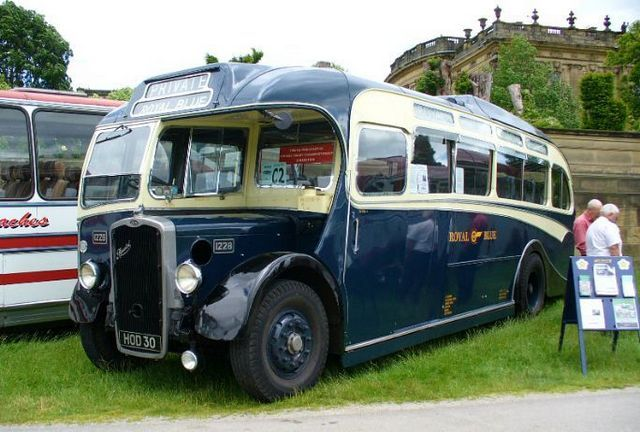 too many cool buses to pin.  This is a 1948 Bristol L6.