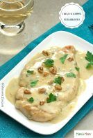 Chicken Scaloppine with Gorgonzola