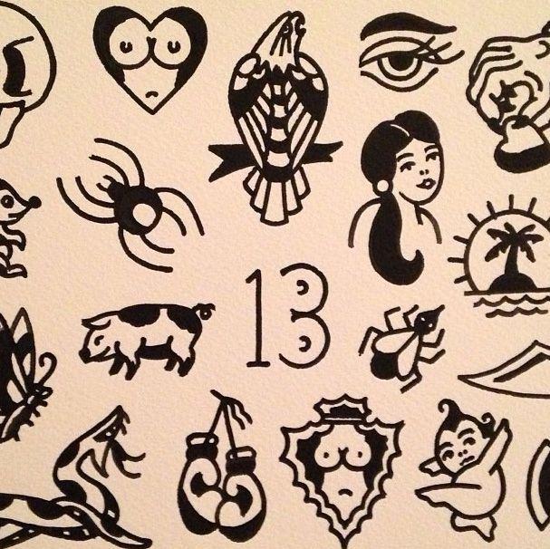 traditional tattoo flash - Google-søgning