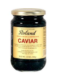 Roland Black Lumpfish Caviar $42.95