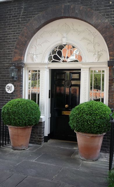 Frame the entrance to your property with some lush looking topiary. To ensure it…