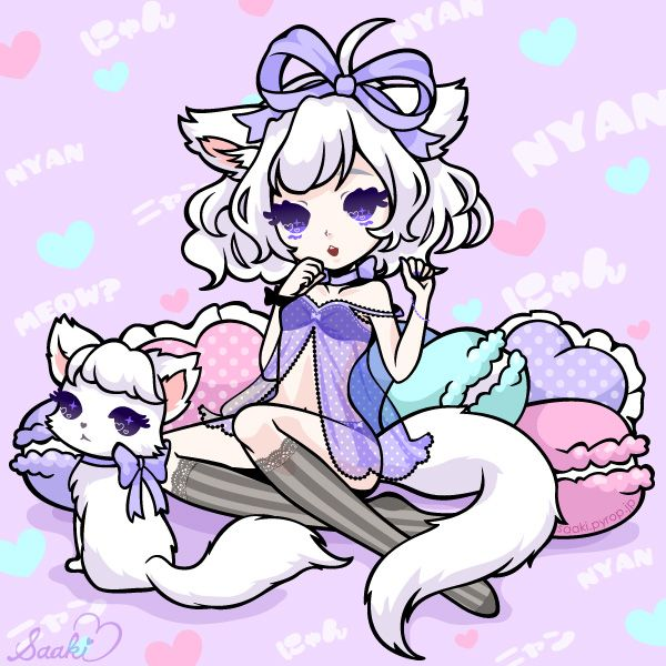 February 22 is Cat Day in Japan. 2/22=Nyan Nyan Nyan!!