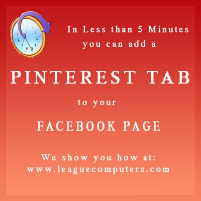 Create a Pinterest Tab on Your Facebook Fan Page In Minutes #PinterestTips: Business Tips, Pinterest Tip, Computer Mumbo Jumbo, Estate Resources, Minutes Pinteresttips, Facebook Marketing, Web Based Resources