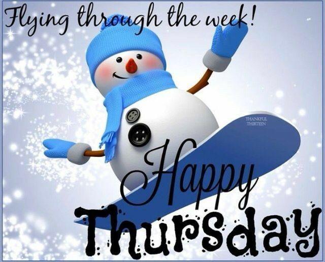 Good morning Thursday snow