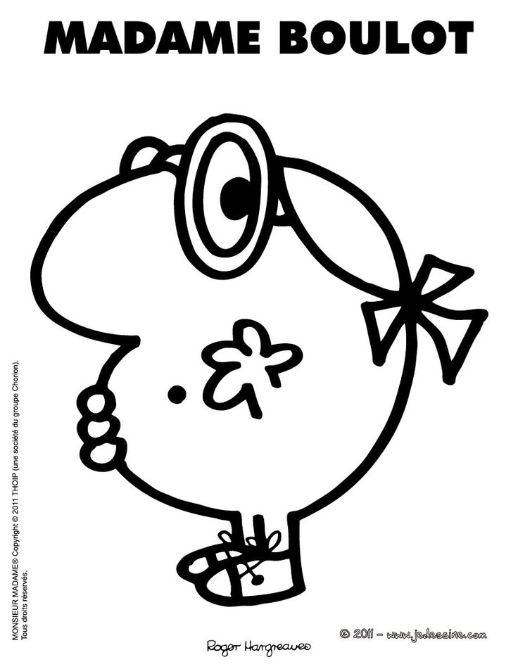 Les 84 meilleures images du tableau dessins monsieur madame sur pinterest coloriage enfant - Dessin de monsieur madame ...