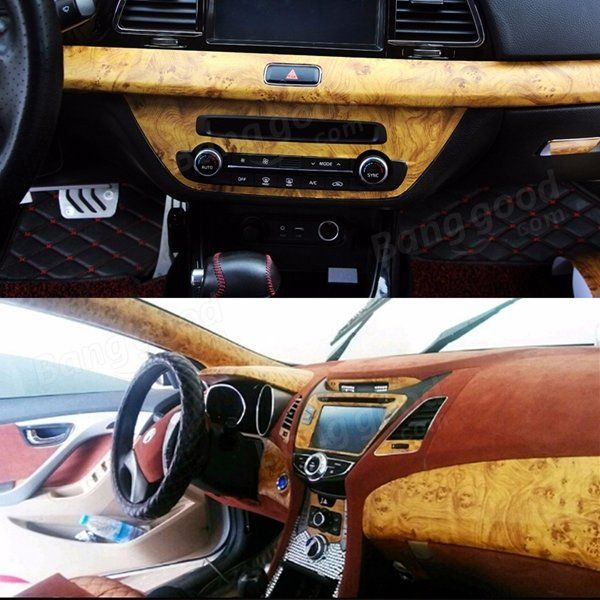 9X60inch Birds Eye Wood Grain Textured Vinyl Wrap Sticker Decal Sheet Film For Car Home Decoration Sale - Banggood.com