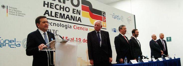 """Inauguran """"Expo Hecho en Alemania"""" en la Ciudad de México"""
