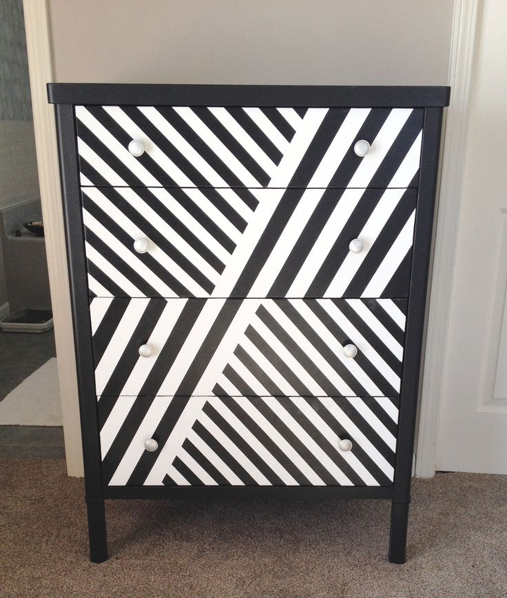 rusty metal dresser re-do. Now an office cabinet