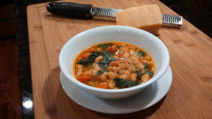 Meatless Monday ~ Tuscan White Bean Soup