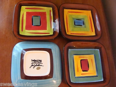 gail pittman pottery southern living at home set 4 brio appetizer