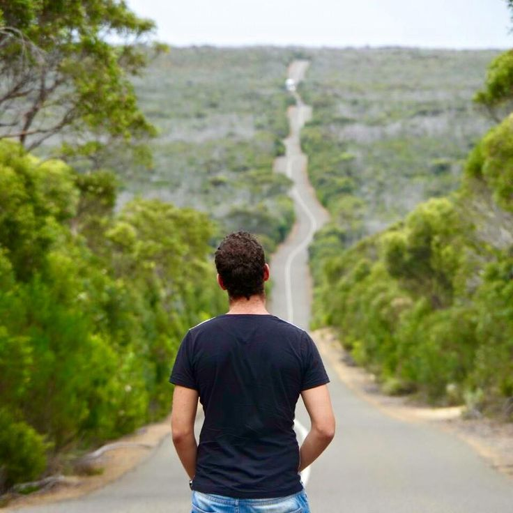 We just love this image? How about you? This is a very photographed road on #Kangaroo #Island.