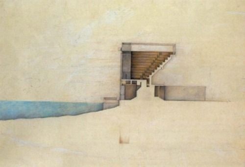 31 best design rendering styles images on pinterest for Paper for architectural drawings
