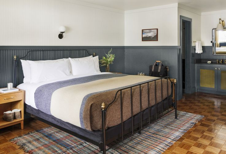 This Retro Motor Lodge Is Now the Dreamiest Yellowstone Park Hotel