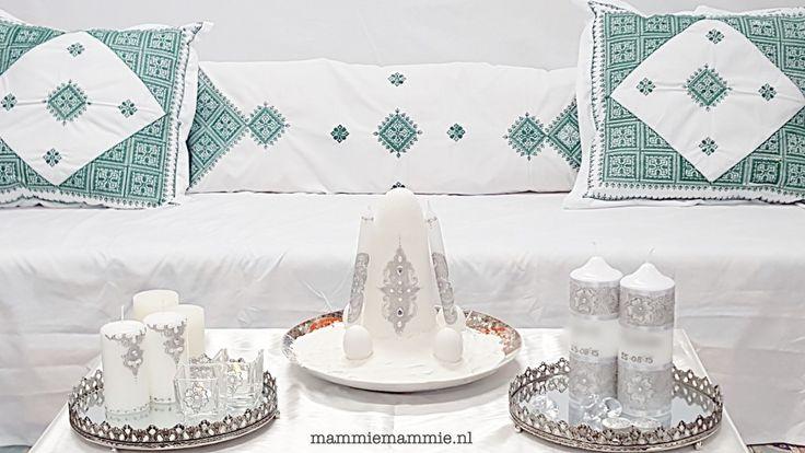 Marokkaanse henna decoratie traditioneel