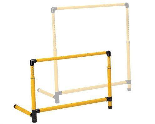 Prism Fitness Group Adjustable SMART Test Hurdle – Medium – 19.5″ to 36″
