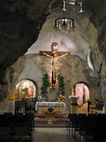 Gellert Cave Chapel Budapest, Hungary