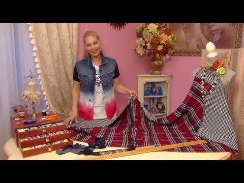 Кардиган из шарфа (Cardigan from scarf) - YouTube