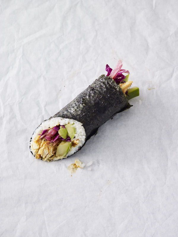 Starbucks Introduces A New Lunch Menu That Features A Sushi Burrito