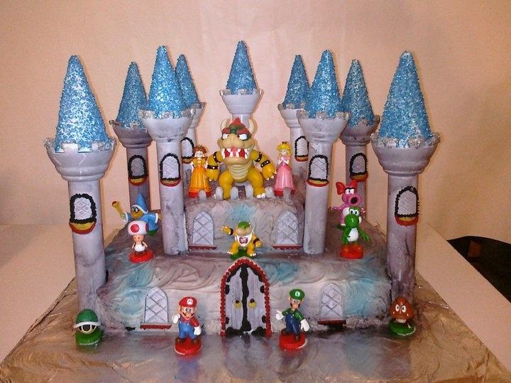 Bowser S Castle Cakes