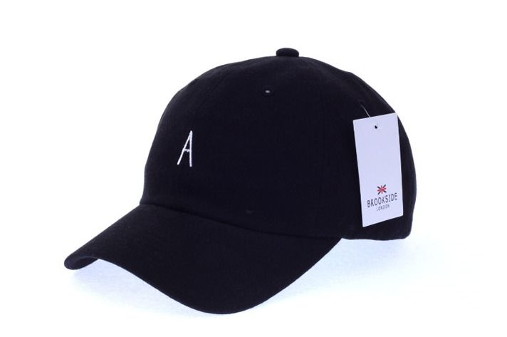 A Logo Black Ball Cap - Baseball Cap / Casual Cap / Couple Cap / Student Cap #Unbranded #Simple