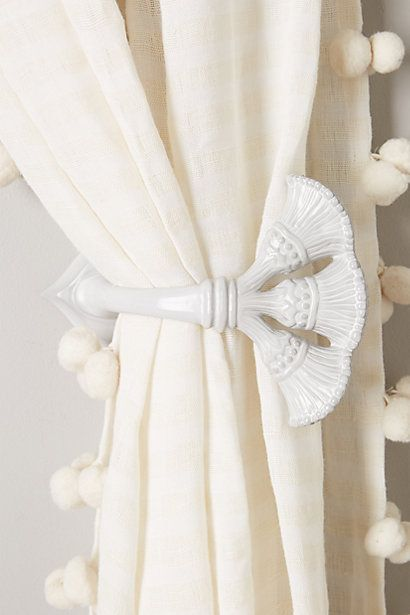 17 Best Images About Tie Backs For Curtains On Pinterest Ties Curtain Tie Backs And