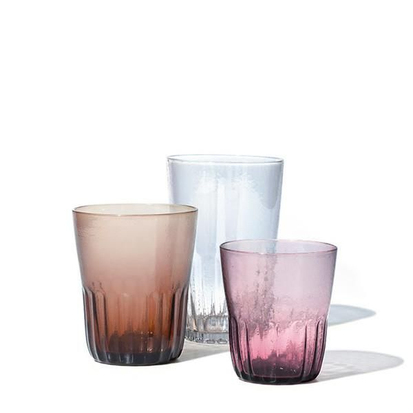 Williams Sonoma Nueva Recycled Glass Short Tumblers