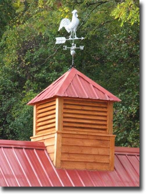 Cupola and metal roof. Need for our new barn.