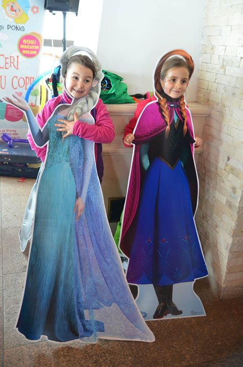 serbarile zapezii ping si pong  Elsa, Ana și Olaf pentru poze www.pingsipong.ro - petreceri pentru copii si magazin online articole petrecere