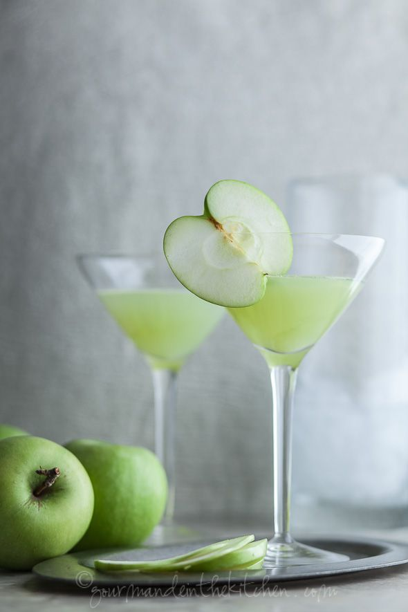 Green Apple Ginger Martini Recipe