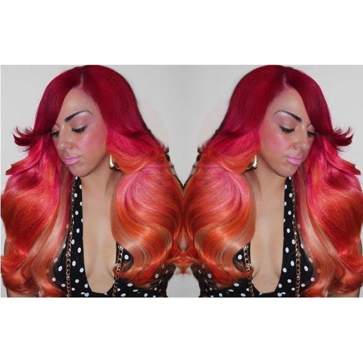 10 Best Pravana Formulas Images On Pinterest Colourful Hair