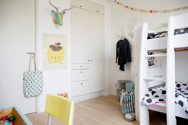 My little girls and their new bedroom. My Scandinavian Home Blog.