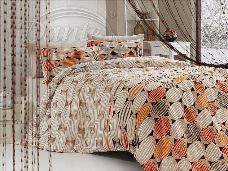 Výrazné krásně vzorované povlečení v přírodních barvách, oživené žlutou a oranžovou.     Ložní povlečení je vzorováno z obou stran stejně na povlaku na deku i na polštáři.     Zapínání je na zip.     Materiál: hladká 100% bavlna.