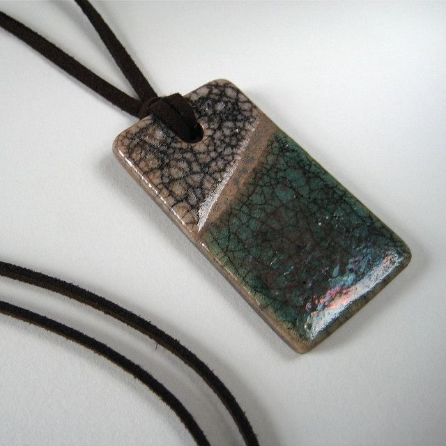 Mejores 110 imgenes de raku pendants en pinterest joyas de raku pendant in moss green and mushroom flickr photo sharing aloadofball