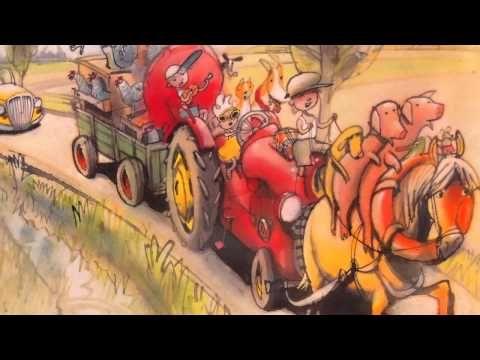 Boer Boris gaat naar de markt, door Ted van Lieshout, illustraties van Philip Hopman