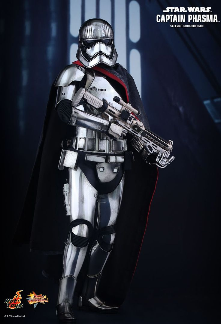 Hot Toys Captain Phasma Collectible Figure Is Sexy Shiny Perfection -  #hottoys #phasma #starwars