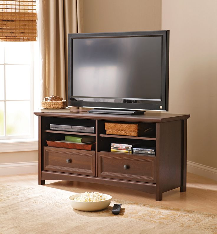 Better homes and gardens oakmore place flat panel tv stand - Better home and garden furniture ...