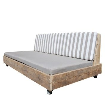 Loungebank steigerhout Superlounge