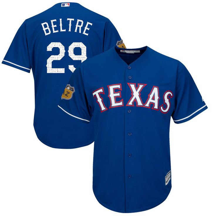 Adrian Beltre Texas Rangers Majestic 2017 Spring Training Cool Base Player Jersey - Royal