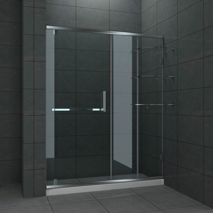 19 Best Images About Bathroom Frameless Sliding Shower