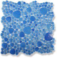 Мозаика D.206 прессованное стекло