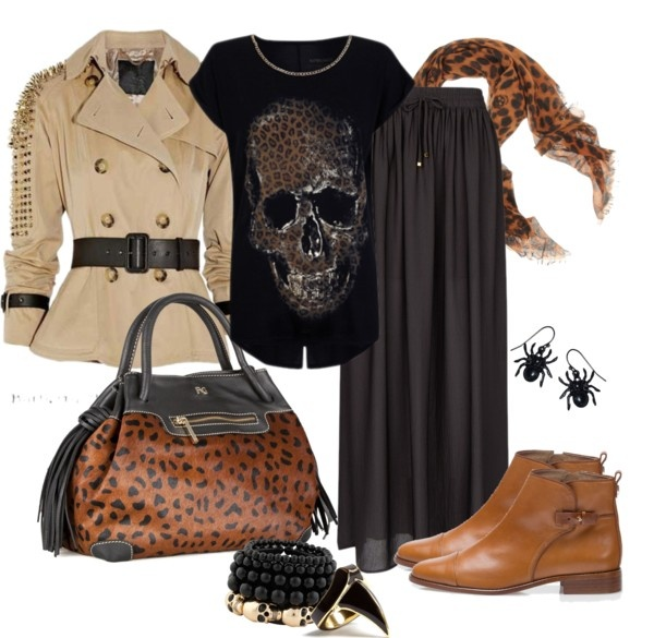 """Leopard print"" by asorana ❤ liked on Polyvore"